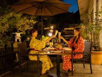 【1組限定・朝食個室】庭園テラスでBBQ☆彡今年は新潟県のブランド牛・村上牛や魚介が充実して魅力アップ!