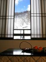 【雪見 半露天風呂付き客室】 エコノミープラン【現金決済】