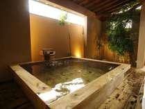 貸切風呂:檜風呂