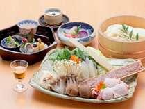 【貸切風呂/お部屋食】京丹後鶏すき鍋会席プラン 【花あかり】