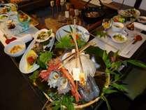 囲炉裏会席 海鮮海女料理