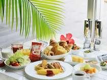 【朝食ブッフェ】朝から贅沢にリゾートモーニング♪