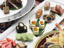 新鮮な食材を利用した和食「琉紅華」和会席ご夕食イメージ
