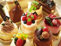 ロビーラウンジ【海音】の豊富な種類のオリジナルケーキ