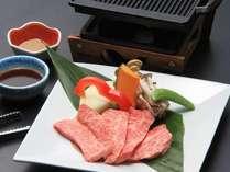 一品料理:香川県新ブランド オリーブ牛鉄板焼