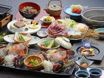 【ネット限定早期予約割引★早期割60】 ~四国の海の幸を味わう~ 瀬戸内の春魚と鰹会席