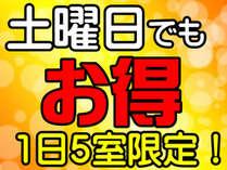 【2月土曜日限定】ワクワクプライスプラン