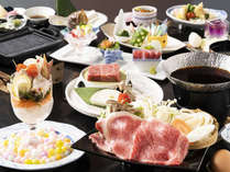 讃岐のブランド肉の肉三昧コース