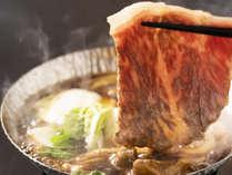 オリーブ牛のすき焼き