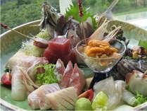 (一品料理)おまかせ刺身盛り合わせ(3人前)当日の仕入れにより旬魚は変わります。