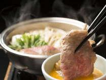 香川の銘柄肉を組み合わせたお肉がメインの会席です。
