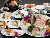 *【夕食一例】天草と言えば…なんと言っても新鮮な海の幸!