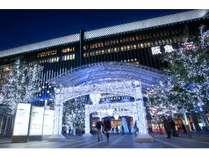 【博多区】博多駅クリスマスイルミネーション[提供:福岡市]