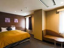【客室一例】スーペリアダブル(ベッド幅160×190cm)