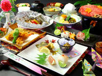 《和洋折衷創作料理コース》食材の一瞬の旨味を逃さない。彩り豊かな会席です♪