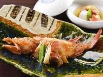 【煮物/献立例】北海道で最高の魚・一本釣りの本きんき。脂のり・味わい共に抜群
