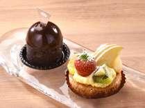 【選べるケーキ】グランプリスイーツ・黒豆タルトまたは、季節のフルーツタルト