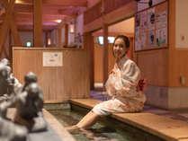 【芦湯】あわら湯のまち広場に佇む北陸最大級の足湯(当館から徒歩で5分)
