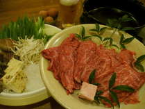 【虹色の旅へ。】近江牛すき焼き(200g)&重曹泉のにごり湯プラン