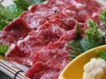 【お料理アップグレードプラン】 スタンダードプラン+熊本名物の上質な「馬刺し」付き