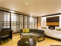 南側の客室(桐・百合・蘭・桜)。畳の面積が広く、より和を感じていただけます。