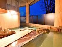 ◆【露天大浴場リニューアル】1階露天風呂(女性)