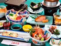 ◆【早期割14】美食の旅!地元食材にとことんこだわった季節の山幸会席~松コース~【夕朝食付】