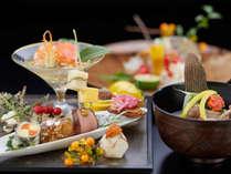 お料理、器は季節の食材に合わせ、ご用意いたしております。(写真はイメージです)