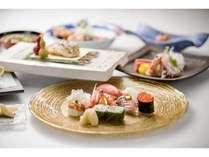 最上級の食材を、寿司「銀明翠 博多」ならではの味に変えてお楽しみ頂きます。
