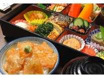 2020年4月1日朝食ー名物鯛茶漬け付和食御膳-