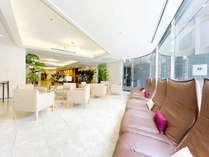 マースガーデンホテル博多1階ロビー