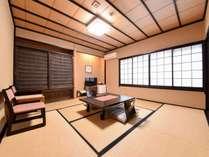 *【和室8畳】木のぬくもりを感じるお部屋。4名様までご利用いただけます。