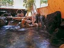 貸切天然温泉岩風呂