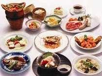 からだにやさしい素材を使った和洋中タイ料理がおすすめ!