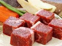 ☆赤城牛サイコロステーキと味わう味覚プラン