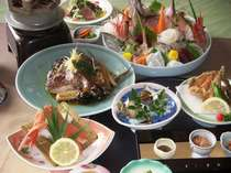 国営ひたち海浜公園コキア見ごろ・おまかせ3プラン・かに料理と海の幸盛り沢山