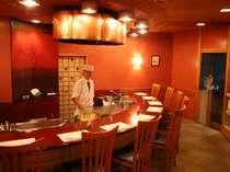 加賀料理【金茶寮】天ぷら専用カウンターでゆっくりお召し上がりください♪