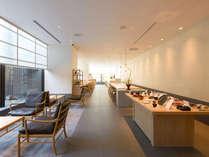 ラグジュアリーフロア、デラックスツインKANAZAWAの客室へご宿泊頂くお客様専用クラブラウンジ