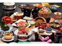 【極み】特選海鮮料理をプラス!お腹も満足グルメプラン