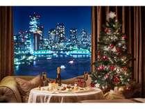 リバービュールームでのクリスマスディナー(イメージ)