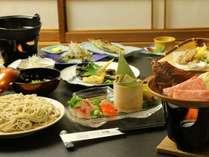 奥飛騨の味覚堪能!創作そば料理と飛騨牛を味わう定番プラン  【1泊2食付】
