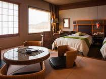 デザイナーズルームのベッドはすべてシモンズ製のものを導入。