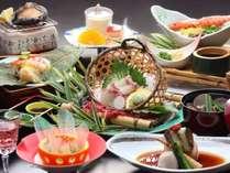 【量より質】《アワビの踊り焼き》瀬戸内と小豆島の美味を集めた「少量美味会席」