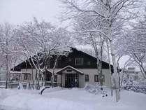 冬のペンション 1