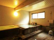【温泉】2つの浴槽で草津の湯をお楽しみいただけます。