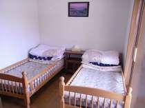 個室ご利用でお使い頂いています。1階にあり朝早くお出かけしやすいお部屋です。