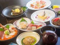 ◆朝食なし◆舟盛り付【 贅沢プラン 】(鮑・フカヒレ・舟盛・海鮮丼が付く豪華メニュー)