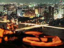 客室からホテル自慢の夜景がお楽しみいただけます(豊平川側)