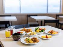 一日の活力は朝食から!!美味しい食事をして、リゾートを満喫しましょう♪