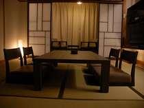 新装和室はおしゃれでシックなモダン和風。